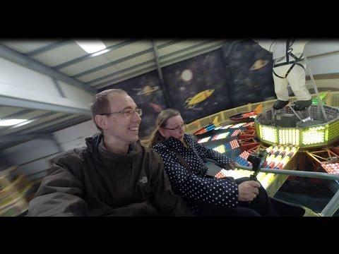 Scary Rides at Vintage Funfair, Folly Farm