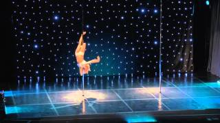 Greek Pole Dance Championship 2016 Semi Pro Winner - Maria Christina
