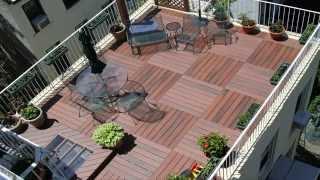 Roof Top Deck   Rosewood Composite Hd (city Decks New York, Llc)