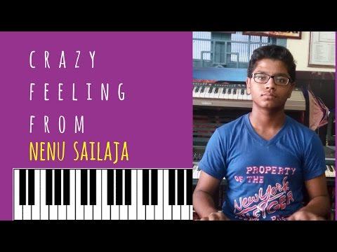 Crazy Feeling From From Nenu Sailaja On Keyboard By P.v.satyanarayana