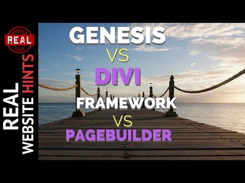 Divi 3 theme vs Genesis Framework a WordPress Framework vs Page Builder