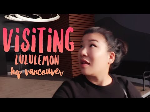 Visiting Lululemon HQ | NYC to YVR to YWS