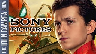 """Tom Holland Vows Sony's Spidey Will Be """"Even Cooler"""" Than MCU's - The John Campea Show"""