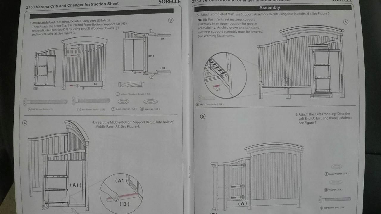 Sorelle vista elite toddler crib rail sorellerails. Com.