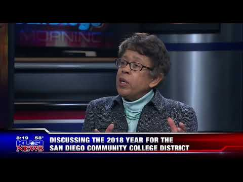KUSI-SD: Discussing the 2018 Year for the San Diego Community College District