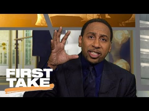 Stephen A. Smith calls out John Wall, says 'shut the hell up' | First Take | ESPN