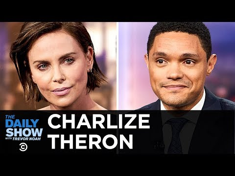 Charlize Theron - Long Shot & Singing Karaoke for the Africa Outreach Project | The Daily Show