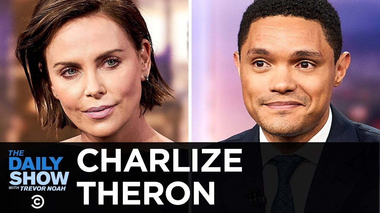 "Charlize Theron - ""Long Shot"" & Singing Karaoke for the Africa Outreach Project 