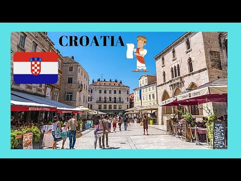 CROATIA: The spectacular CITY OF SPLIT, a walking tour