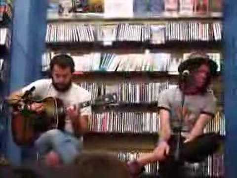 The Format - If Work Permits (live and acoustic)