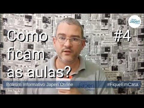 Informativo Japeri Online #4 - Como ficam as aulas?