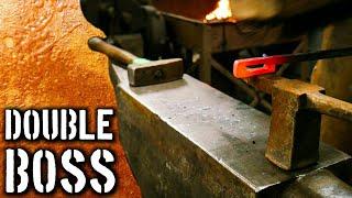 Forging a Double Boss Slot  (Progressive Forging Exercises)