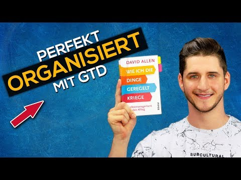 Getting Things Done YouTube Hörbuch Trailer auf Deutsch