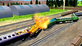 Train Simulator Train Games (by Puffy Thumb) Android Gameplay HD