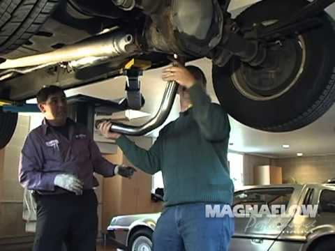 Magnaflow Exhaust Install Dodge Dakota V8 Youtube