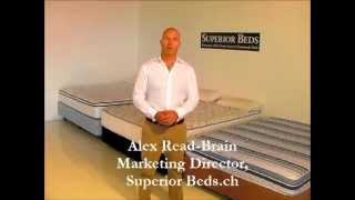 Bed Sizes Guide | Superior Beds Switzerland
