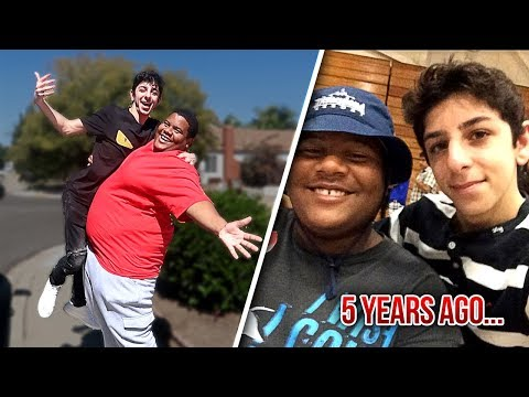 REUNITING WITH MY BEST FRIEND AFTER 5 YEARS!! (emotional) | FaZe Rug