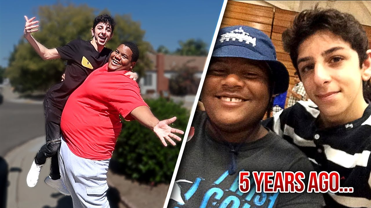 Reuniting With My Best Friend After 5 Years Emotional Faze Rug Youtube