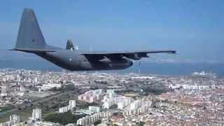 C-130 da Força Aérea Portuguesa em formação