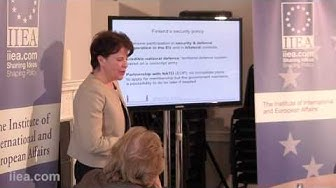 Dr Teiha Tilikainen - Future Choices for Finland's Security Policy