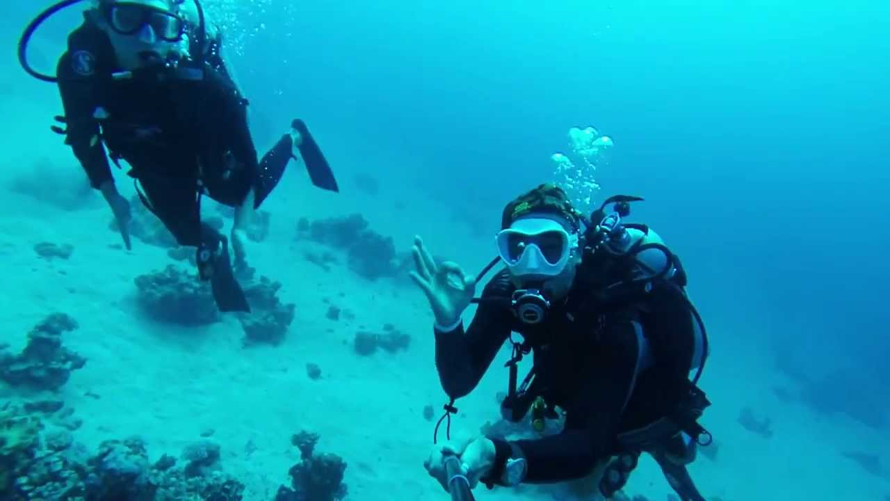 Padi scuba diving trip day 2 aqaba jordan youtube for Aqaba dive