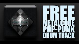 FREE METALCORE/POP-PUNK DRUM TRACK 180/150BPM