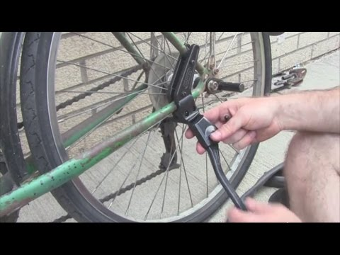 How to Install a Kickstand on a Bicycle