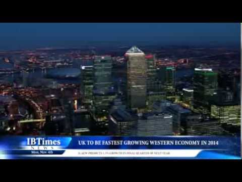 UK to be Fastest Growing Western Economy in 2014