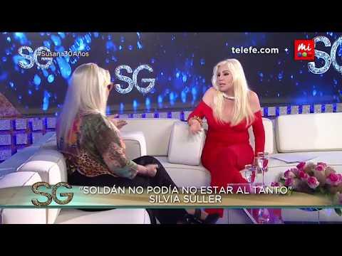 Entrevista completa con Silvia Süller - Susana Giménez 2017