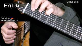 O QUE SERA': Easy Guitar Lesson + TAB + CHORDS by GuitarNick
