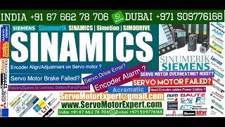 SIEMENS SINAMICS Troubleshooting and Repairing Servo motor, servo drive failure causes, Heidenhain