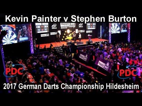 2017 German Darts Championship Hildesheim Kevin Painter v Stephen Burton    First Round