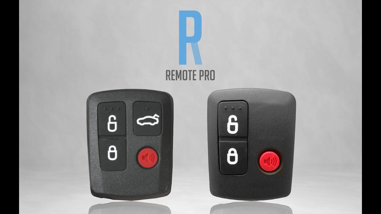 Ford BA BF Falcon/XR6/XR8/FPV Remote Coding Procedure