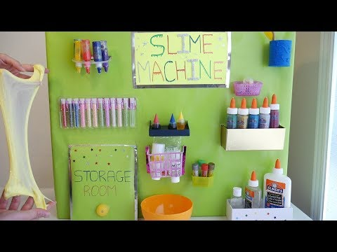 Slime Machine DIY | Creative Home Made Slime Factory