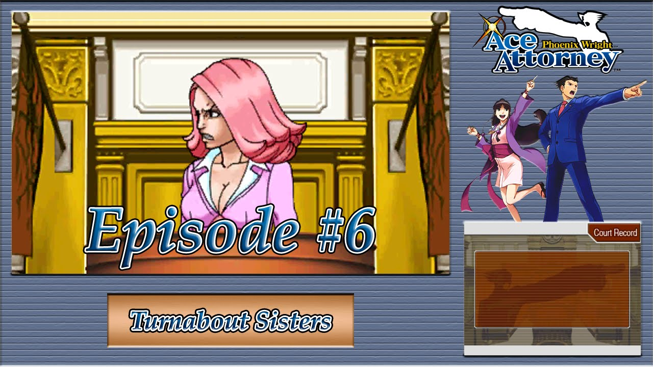 Phoenix Wright Ace Attorney Episode 5: April Mays