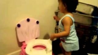 potty training girls