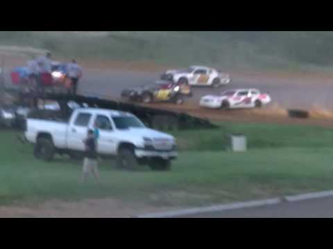July 9 2016 Street Stock Race at Natural Bridge Speedway
