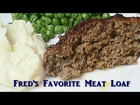 Fred's Favorite: Meat Loaf With a Little Twist