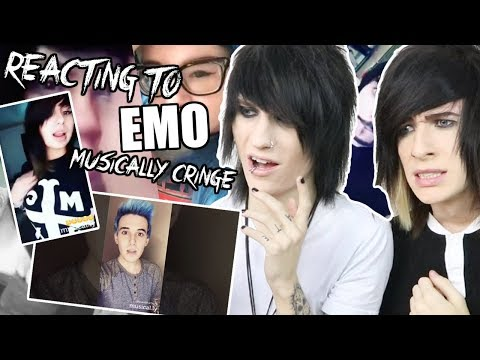 EMOS TRY NOT TO CRINGE EMO MUSICAL.LY CHALLENGE