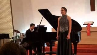 Anna Stephens sings
