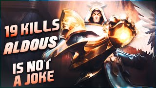 HYPER CARRY ALDOUS! GET EASY STACKS | MLBB