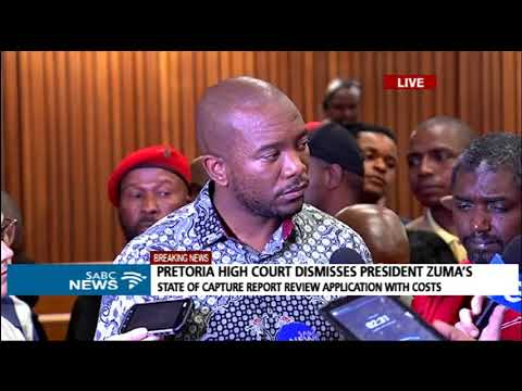 DA, EFF welcome court's decision on Zuma's State Capture application