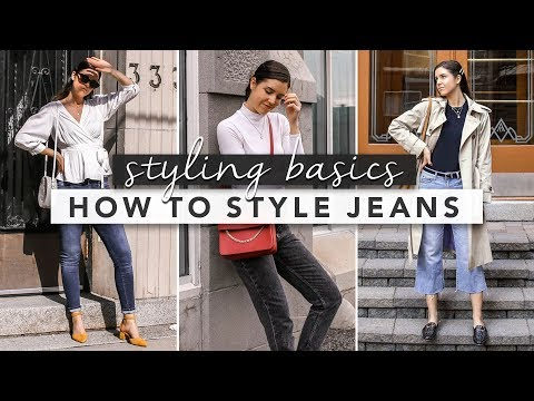 Fashion Finds - Styling Basics: 3 Different Outfits Wearing Jeans
