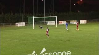 Beau but du gardien de Vesoul : exceptionnel!! Fantastic goal!!