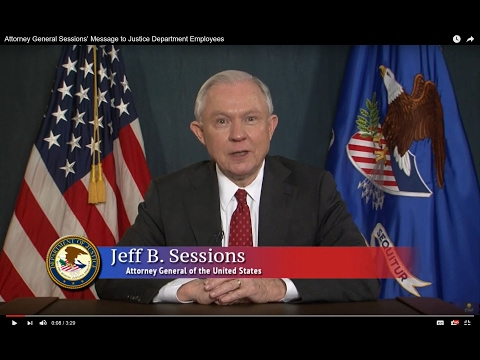 Attorney General Sessions' Message to Justice Department Employees
