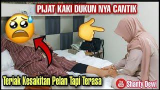 Pijat Kaki Auto Kesakitan Sampek Nyewa Hotel 3 Jam Dukun Nya Cantik || Vlog Shanty Dewi