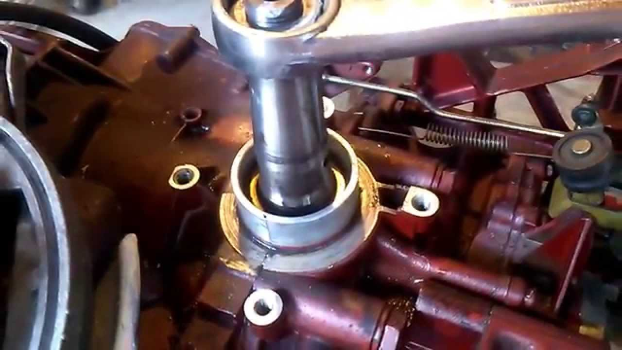 Outboard Crank Seal Test