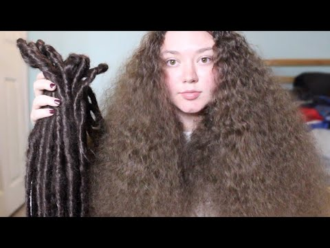 taking out my dreadlocks youtube