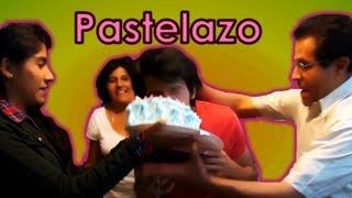 Pastel con crema de afeitar | Broma por el cumpleaños de Rafa