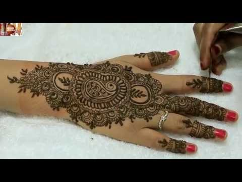 Stylo Easy Beautiful Gulf Heena Mehndi Designs For Hands|Traditional Mehendi Art By MehndiArtistica